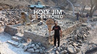Download HOLY FIRE Destruction - Holy Jim's Historic Cabins Gone Forever Video