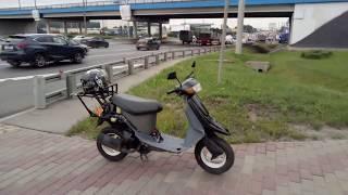 Download ГИБДД остановили 50 кубовый скутер на МКАДе Video