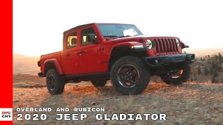 Download 2020 Jeep Gladiator Overland and Rubicon Video