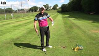 Download Hit The Golf Ball On the Way Down With Your Irons Video