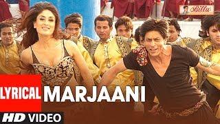 Download LYIRCAL: Marjaani Song | Billu | Shahrukh Khan | Kareena Kapoor | Sukhwinder Singh, Sunidhi Chauhan Video