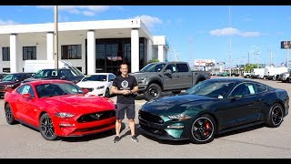 Download Why BUY the 2019 Ford Mustang Bullitt over the Mustang GT? Video