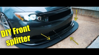 Download DIY how to make a front splitter Video