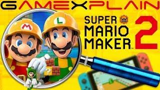 Download Super Mario Maker 2 ULTIMATE ANALYSIS - Reveal Trailer (Secrets & Hidden Details) Video