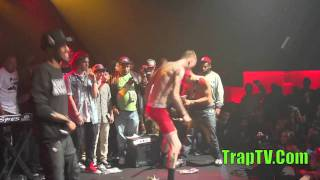 Download Machine Gun Kelly Covers Blink's 182 - What's My Age Again In Boxer Briefs Video