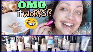 Download I Tried Mixing ALL Of My Foundations Together... OMG!!! Video