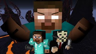 Download Pro and Hacker VS. Herobrine - Minecraft Video