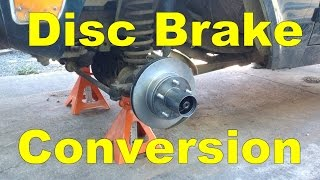 Download Drum to disc brake conversion. 1968 Ford Bronco Video
