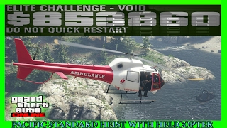 Download GTA 5 Pacific Standard Heist Glitch With Helicopter (NEW METHOD) Video