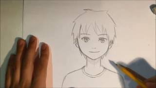 Download How To Draw Anime Male Face [Slow Narrated Tutorial] [No Timelapse] Video