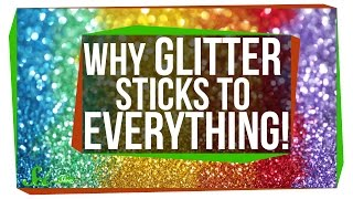 Download Why Does Glitter Stick to Everything? Video