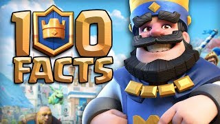 Download 100 CLASH ROYALE Facts that YOU Should Know! Video