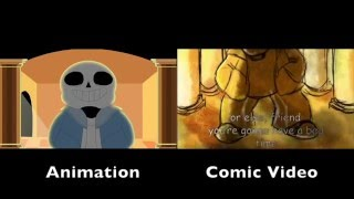 Download ″Stronger Than You″ Sans Animation and Comic Video Comparison Video