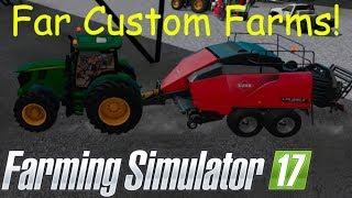 Download Far Custom Farms! Custom Square Silage Bales!! Farming Simulator 2017! #TeamScrunt Video