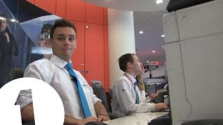 Download Tom Daley works BBC reception Video