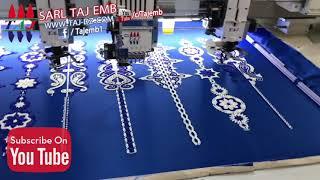 Download SARL TAJ EMB TAJ 602+2 طريقة عمل الكوردون المغربي على المكنة Video