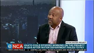 Download Khato Civils' R3-billion contract in Giyani, Limpopo has been terminated Video