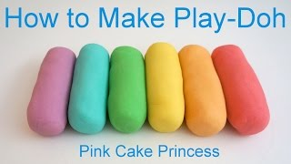 Download Best Play Doh Recipe! How to Make Easy Play-Doh by Pink Cake Princess Video