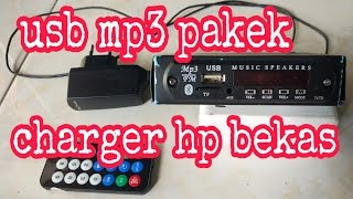 Download MP3 player pakek charger bekas Video