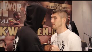 Download 'I'LL F*** YOU UP LAD' - JOHN THOMPSON TAUNTS LIAM SMITH IN HEAD TO HEAD / WORLD WAR 3 Video