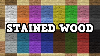 Download Minecraft - Stained Wood Explained, Add Ons (QnA) Video
