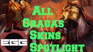 Download All Gragas Skins Spotlight - League of Legends Skin Review [HD] Video