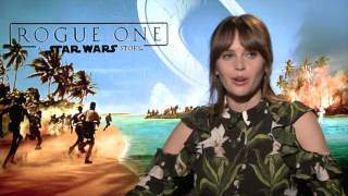 Download Felicity Jones (³Jyn²) opens up about STAR WARS ROGUE ONE Video