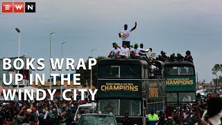 Download Zwide comes to standstill for captain Siya Kolisi before Boks leave for CT Video