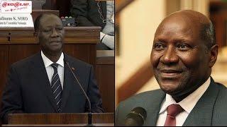 Download Le président Alassane Ouattara nomme Daniel Kablan Duncan au poste de vice président Video
