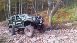 Download JBA Offroad testing the Jeep Liberty Long Arm kit Video