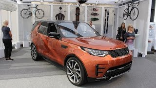 Download 2017 Land Rover Discovery WALKAROUND Video