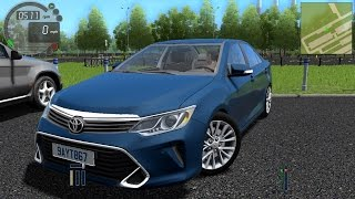 Download Toyota Camry V55 3.5L 2015 City Car Driving Video