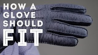 Download How A Glove Should Fit & Men's Dress Gloves Sizing Video