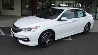 Download 2017 Honda Accord SPORT SPECIAL EDITION Review (Bellingham, WA) Video