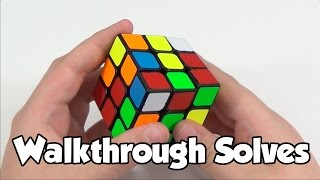 Download 3x3 Walkthrough Solves | CFOP - White Cross | Cube Ed Video