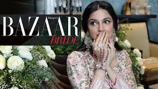 Download Divya Khosla Kumar's Cover Shoot   Behind The Scenes   Harper's Bazaar Bride - August issue Video