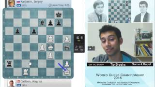 Download GM Tal Baron, Chess Orgasm - Magnus Carlsen vs. Sergey Karjakin, last move of the match... Video