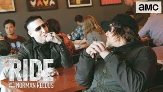 Download 'Eating Hot Chicken w/ Marilyn Manson' Talked About Scene Ep. 306 | Ride with Norman Reedus Video