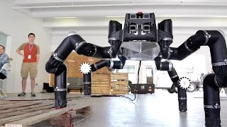 Download Meet RoboSimian, NASA JPL's Ape-Like Robot! Video