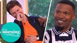 Download Jamie Foxx Has Everyone in Stitches Talking About 'Baby Driver' | This Morning Video