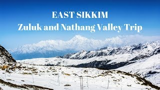 Download Zuluk and Nathang Valley Tour | Snowfall in Old Silk Route, Sikkim Video