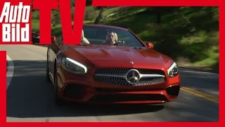 Download Review Mercedes SL 400 Facelift (2016) - Neue Optik für den SL Video