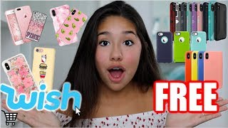 Download Buying Free iPhone Cases From Wish!! Video