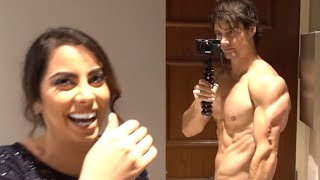 Download Girls Walk in on Connor Murphy Shirtless in the Bathroom! (Priceless Reaction) Video