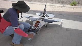Download HSD F-16 SWIWIN 6KG TURBINE JET   ## MAIDEN FLIGHT ##   (RC Pilot: Capt. Abet - Master Idol) Video