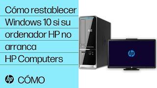 Download Cómo restablecer Windows 10 si su ordenador HP no arranca | HP Computers | HP Video