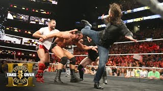 Download Adam Cole makes his NXT debut with a savage superkick on Drew McIntyre: NXT TakeOver: Brooklyn III Video
