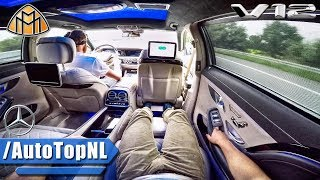 Download MERCEDES S CLASS MAYBACH S600 V12 PASSENGER POV ALL FEATURES GADGETS & TOP SPEED by AutoTopNL Video