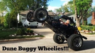 Download Dune buggy wheelie and driving it Video