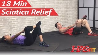 Download 18 Min Sciatica Exercises for Leg Pain Relief - Sciatica Relief & Treatment for Sciatic Nerve Pain Video